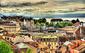 View of Lausanne from the Cathedral - Switzerland