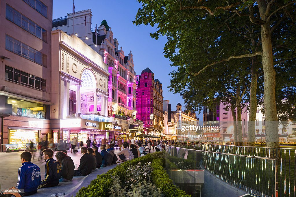 View of Leicester Square