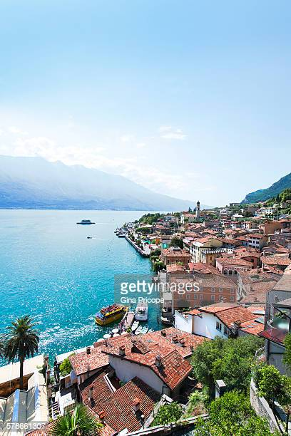 View of Limone sul Garda, Lombardy