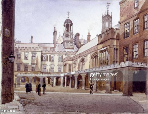 View of Lincoln's Inn Old Hall in the Old Square London 1889