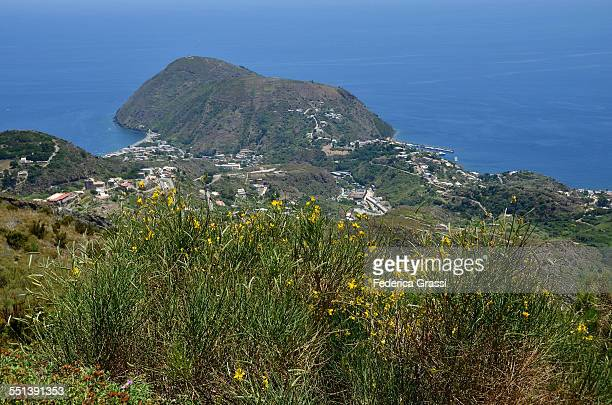 View of Lipari and Canneto from Mt. St. Angel