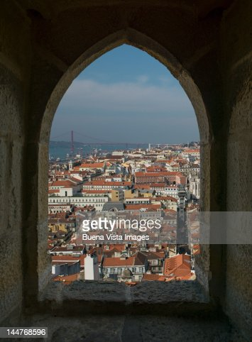 View of Lisbon, Portugal. : Stock Photo