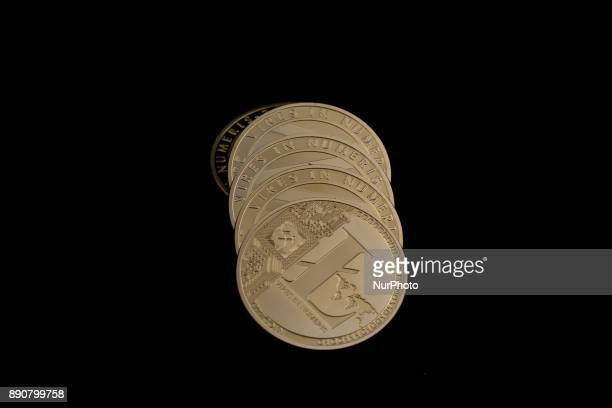 A view of Litecoin physical coin