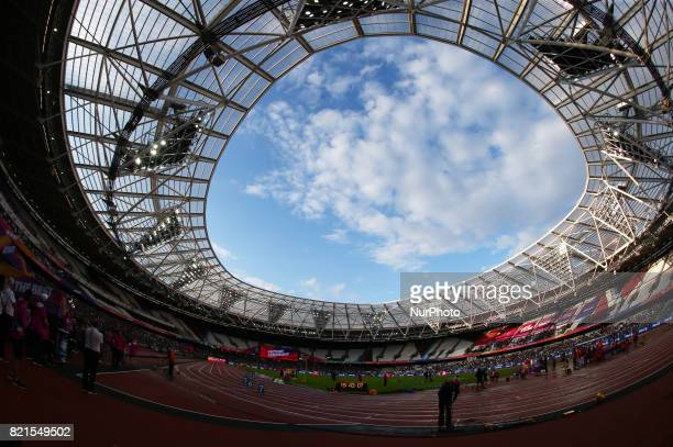 View of London Stadium during World Para Athletics Championships at London Stadium in London on July 23 2017