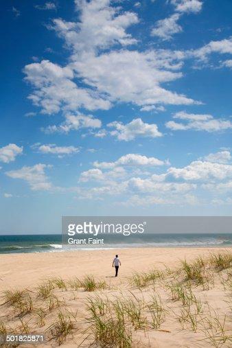 View of Long Island beach