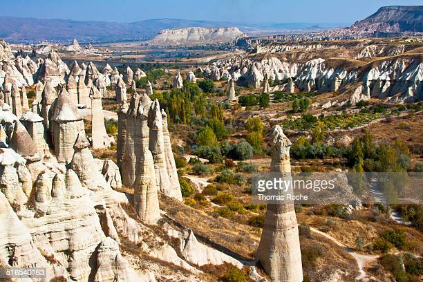 A view of Love Valley in Cappadocia