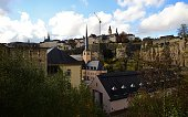 A view of Luxembourg City on November 10 2014 Leaked documents describing the Luxembourg tax arrangements of more than 340 multinationals were...