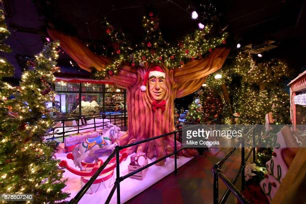 A view of Macy's Herald Square Santaland on November 17 2017 in New York City