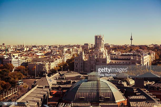 View of Madrid, Spain