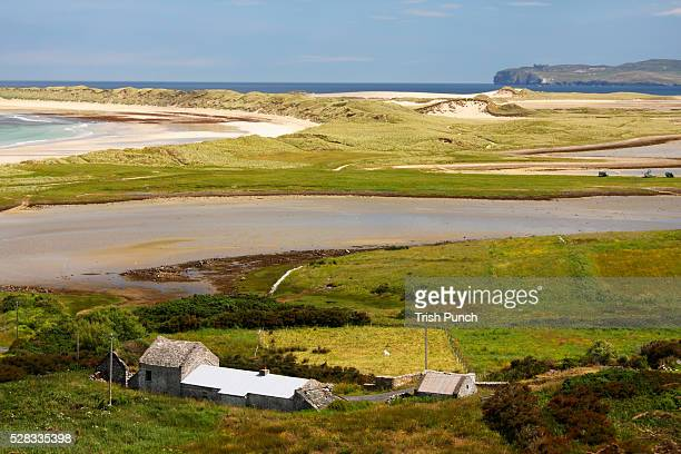 View Of Magheroarty Beach And The Ferry Point For Tory Island; County Donegal Ulster Ireland