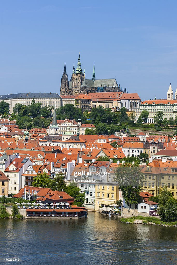 View of Mala Strana and the castle