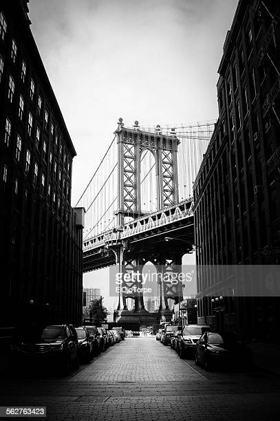 View of Manhattan Bridge from Brooklyn