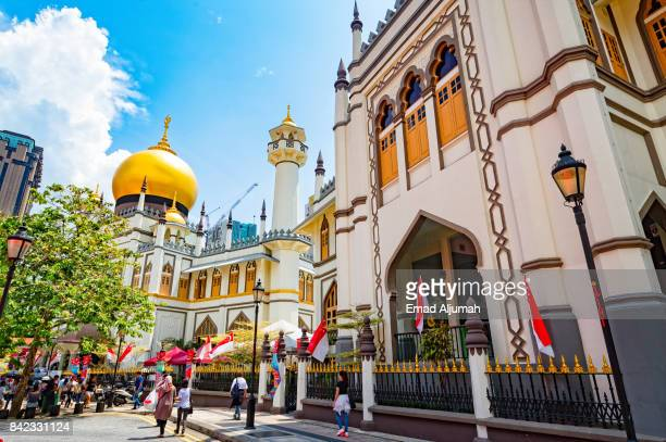 View of Masjid Sultan, Singapore - August 19, 2017