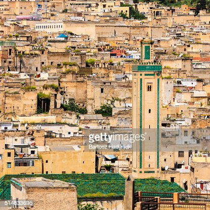 View of medina in Fez