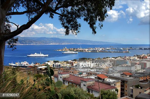 View of Messina straight