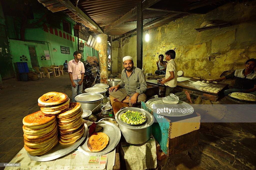 A view of Mirza Ghalib Street at Hazrat Nizamuddin Basti on October 19, 2015 in New Delhi, India.