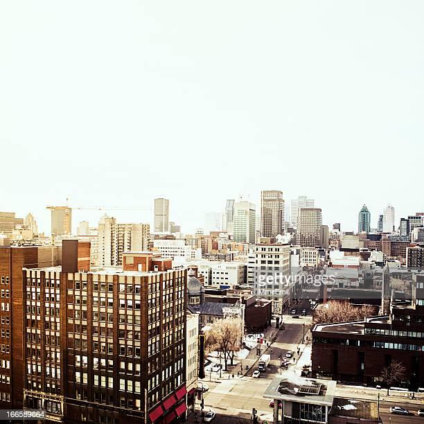 Stadtlandschaft von Montreal