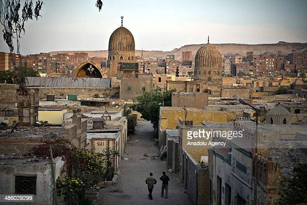 A view of Mosque of Muhammad Ali in Cairo unplanned urbanization and settlements in Egypt given rise on April 21 2014 Unplanned and improper...