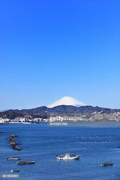 View of Mount Fuji, Kanagawa Prefecture, Japan