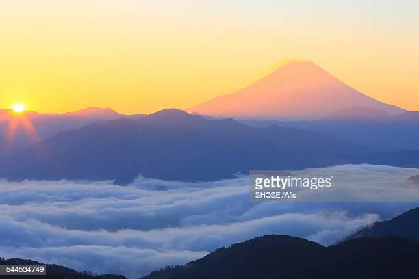 View of Mount Fuji, Yamanashi Prefecture, Japan