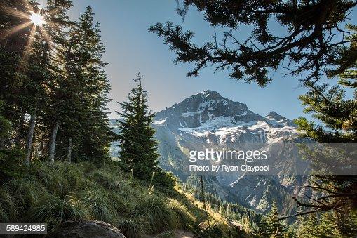 A view of Mt. Hood, Oregon