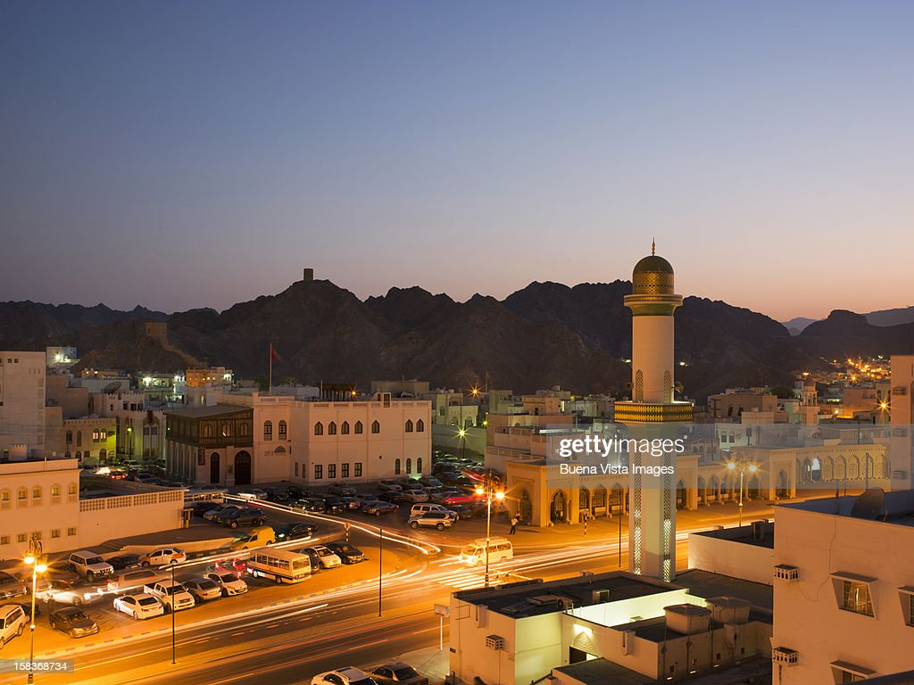 View of Muscat, Oman. : Stock Photo