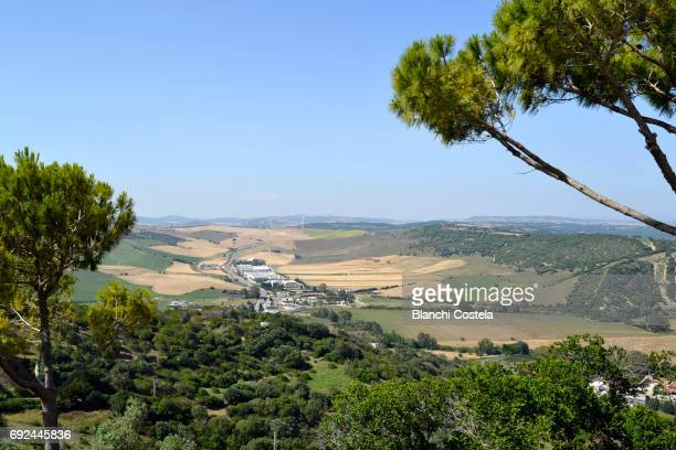 View of nature from Vejer de La Frontera in the mountains