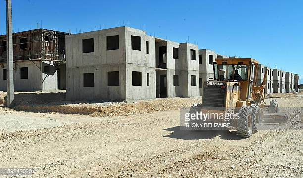 A view of new construction is seen on January 8 2013 in Marassa a suburb of PortauPrince Three years after the earthquake that devastated Haiti000...