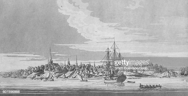 A view of New York City from the Northwest 1777 From the New York Public Library