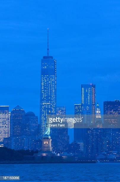 View of New York skyline