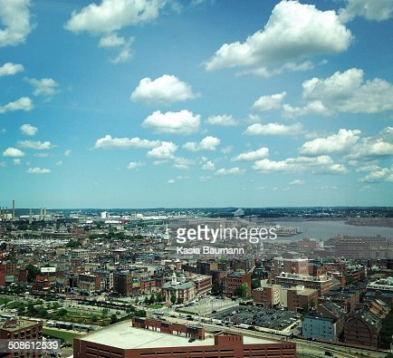 View of North End in Boston, Massachusetts : Stock Photo