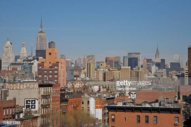 View of NYC from the Lower East Side, New York City, NY, USA