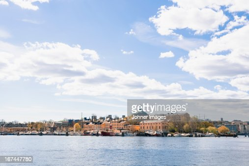View of old town of Stockholm : Stock Photo