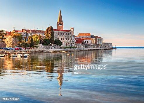 View of old town Porec, Croatia