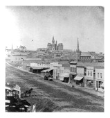 A view of Omaha Nebraska Circa 1800