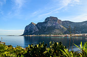 View of a bay in Palermo, Sicily
