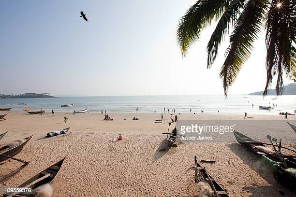 View of Palolem beach,Goa,India