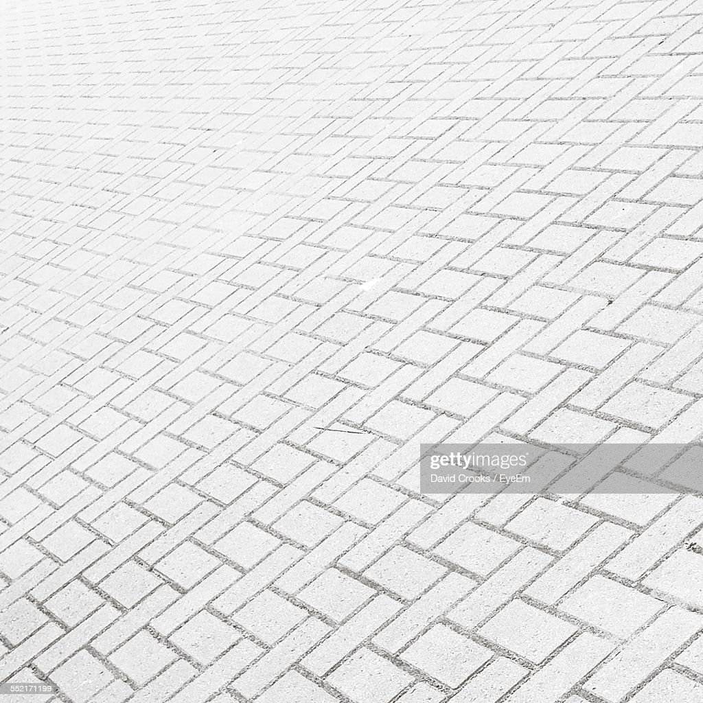 View Of Paving Stone In Town Square