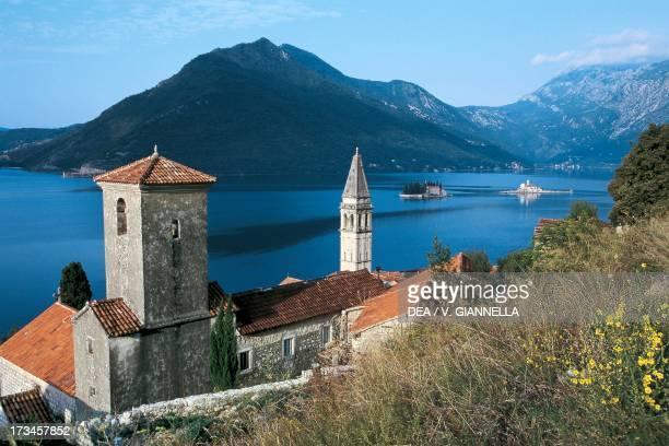 View of Perast Kotor Bay Montenegro