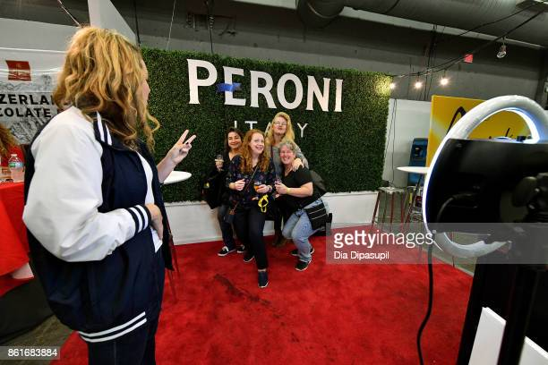 A view of Peroni at the Food Network Cooking Channel New York City Wine Food Festival Presented By CocaCola Grand Tasting presented by ShopRite...