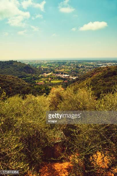 View of Pietrasanta Italy