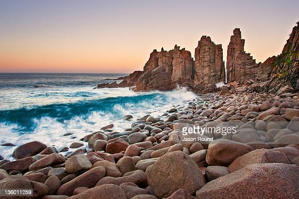 View of pinnacles at Phillip island