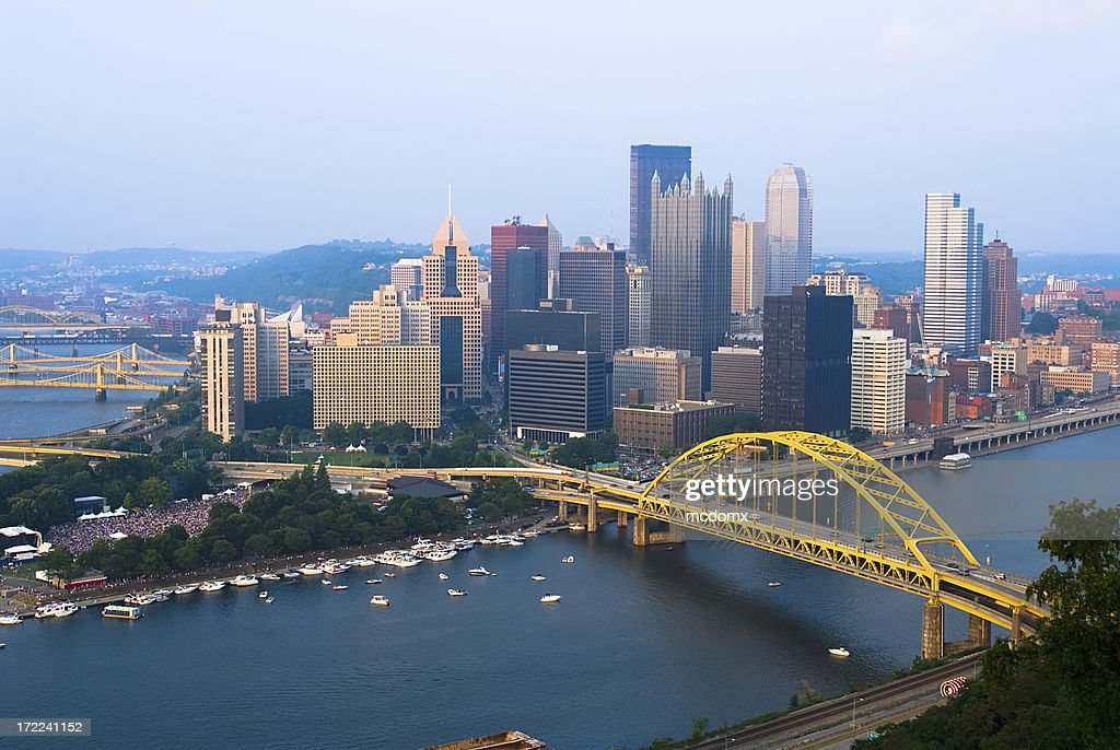 View of Pittsburgh, Pennsylvania skyline during the day
