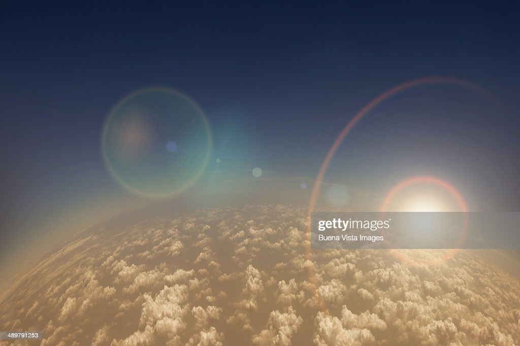 View Of Planet Earth From Space Stock Photo | Getty Images