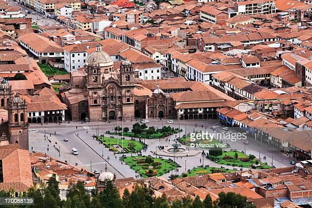 View of Plaza de Armas - Cusco, Peru