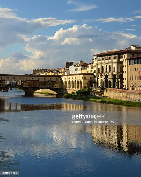 View of Ponte Vecchio in Florence