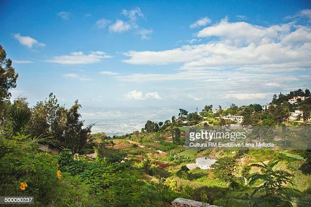 Port au prince stock photos and pictures getty images for Canape vert port au prince haiti