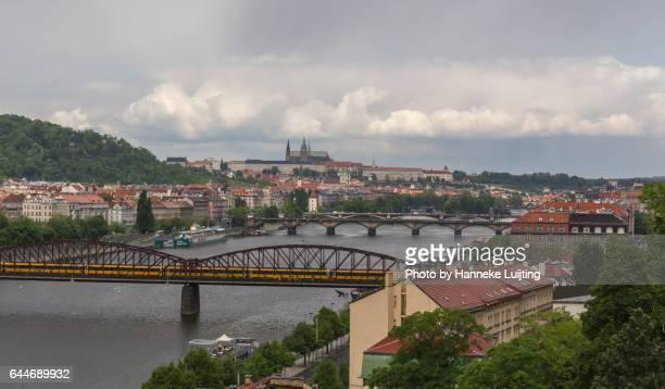 View of Prague from Vyšehrad