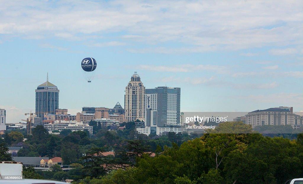 View of Pretoria capital of South Africa on November 20 2014 in Pretoria South Africa