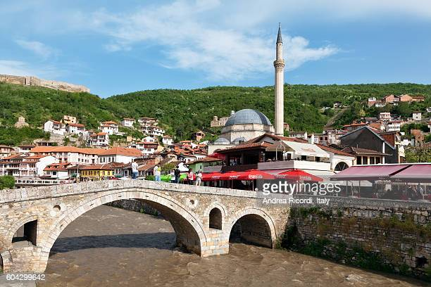 View of Prizren, second largest city of Kosovo